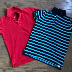 Set of Gap polos- very good condition